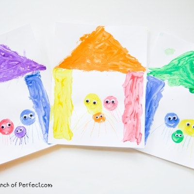 The Crayon Book: Color Family Painting Activity for Kids