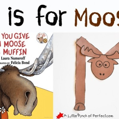 Letter of the Week A-Z Series: M is for Moose
