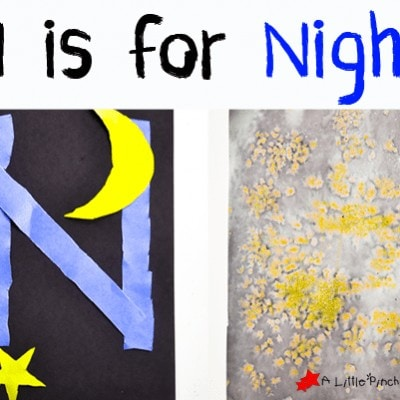 Letter of the Week A-Z Series: N is for Night