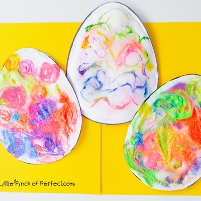 3D Puffy Paint Easter Egg Kids Craft