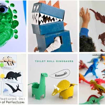Dinosaur Crafts & Activities for Kids (Love to Learn Linky #37)