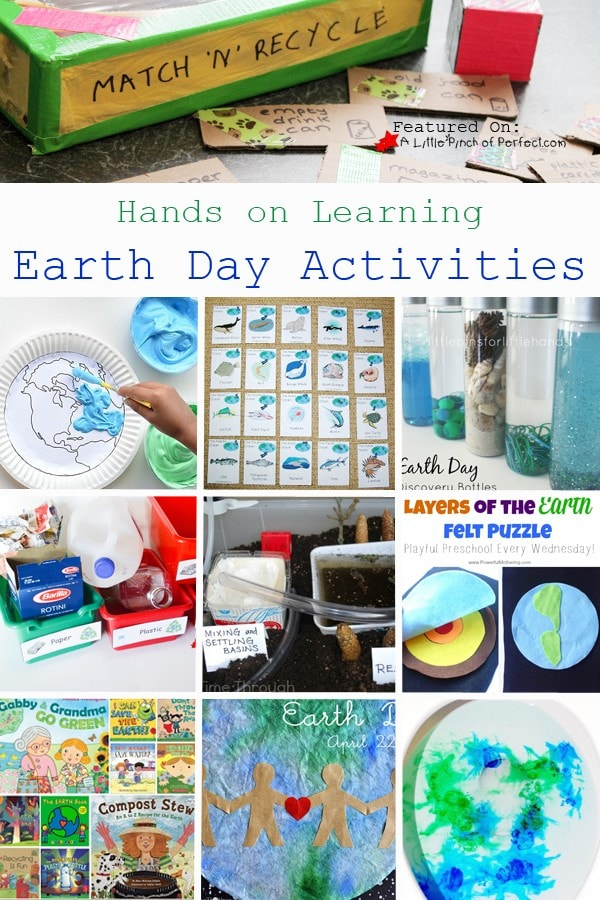 10 Earth Day Hands on Learning Activities for Kids