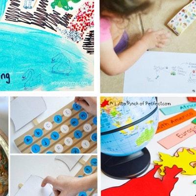 Preschool Activities: Exploring All Kinds of Maps