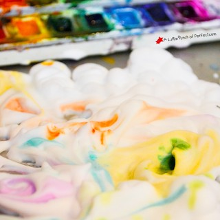 Painting on Clouds: No-Prep Sensory Art Activity for Kids