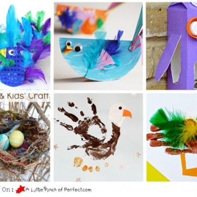 Fabulous Bird Crafts & Activities for Kids