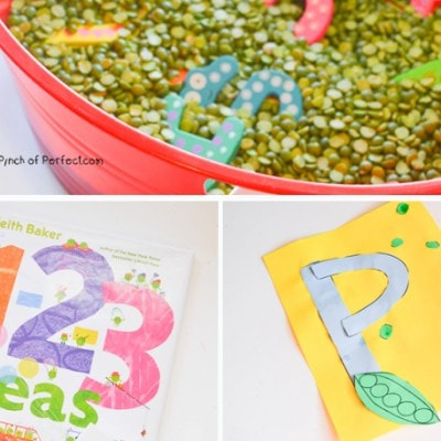 Letter of the Week A-Z Series: P is for Peas
