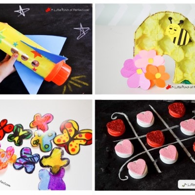 Recycled Crafts for Kids + $100 Amazon GC Giveaway