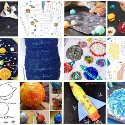 19 Exploring Outer Space Activities, Crafts, and Printables for Kids