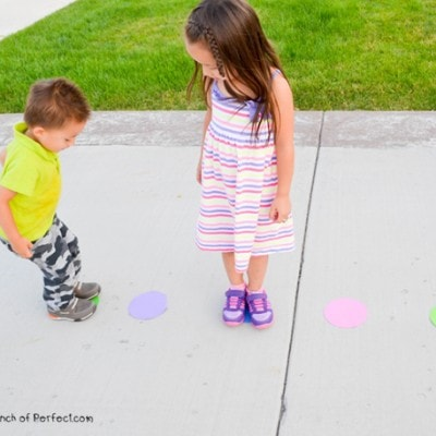 Polka Dot Jump and Play Game for Kids