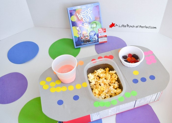 Inside Out Control Panel Craft Perfect for a Disney Movie Night