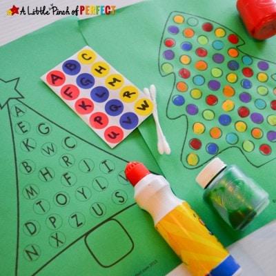 Christmas Tree Free Printable Activities for Kids