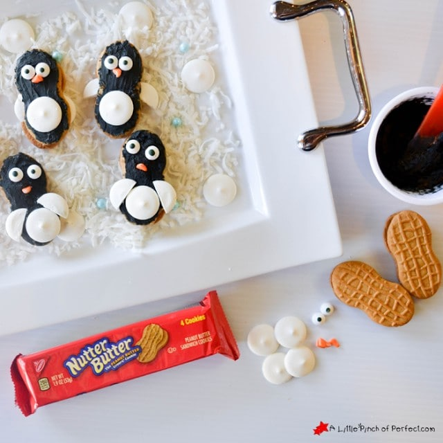 How to Make Penguin Cookies with Nutter Butters