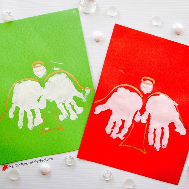 Handprint Angel Craft for Kids You'll Cherish Forever