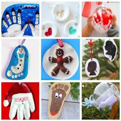 Sweetest Christmas Keepsake Ornaments for Kids
