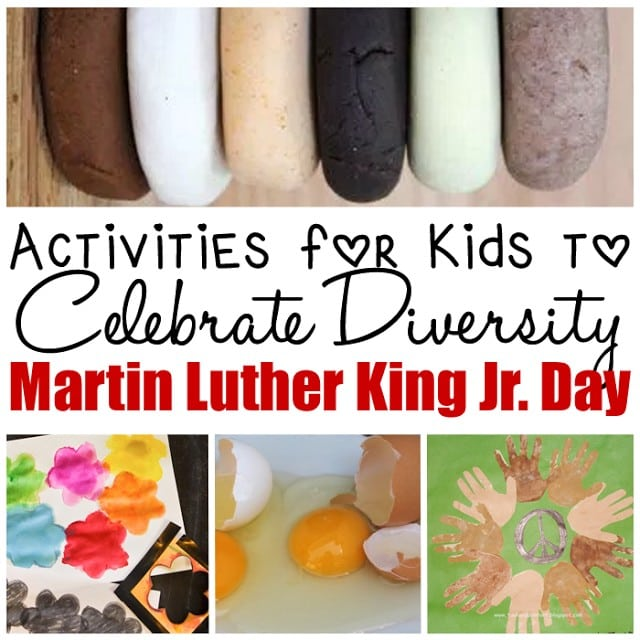 Activities to Celebrate Diversity and Martin Luther King Jr. Day with Kids