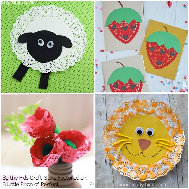 10 Adorable Doily Crafts for Kids