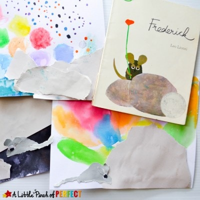 Frederick Mouse Craft Inspired by Leo Lionni