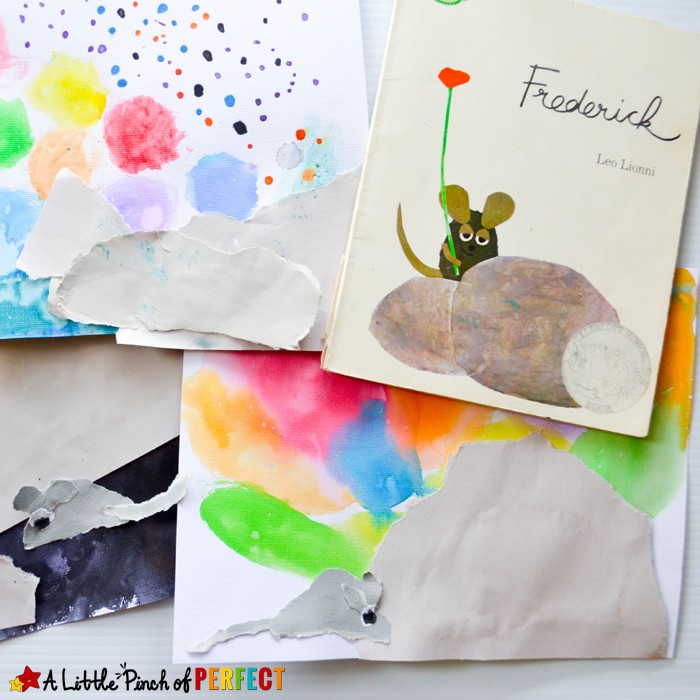 2016-2_Frederick Mouse Craft Inspired by Leo Lionni_A Little Pinch of Perfect 1