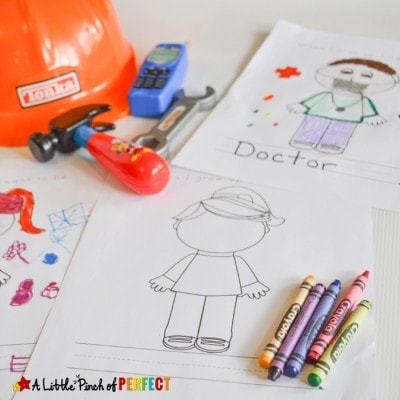 When I Grow Up Activities and Free Printable for Kids