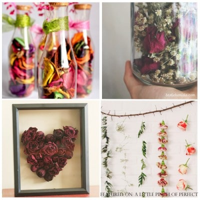 6 Ways to Enjoy a Bouquet of Flowers After They're Dried
