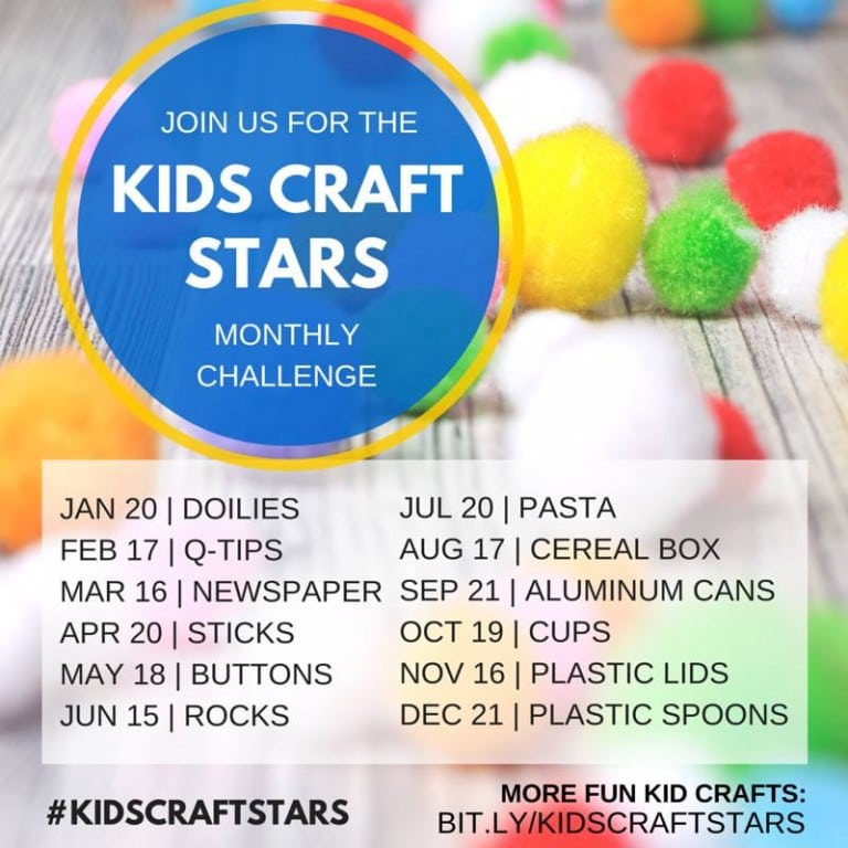 kid craft stars-768x768