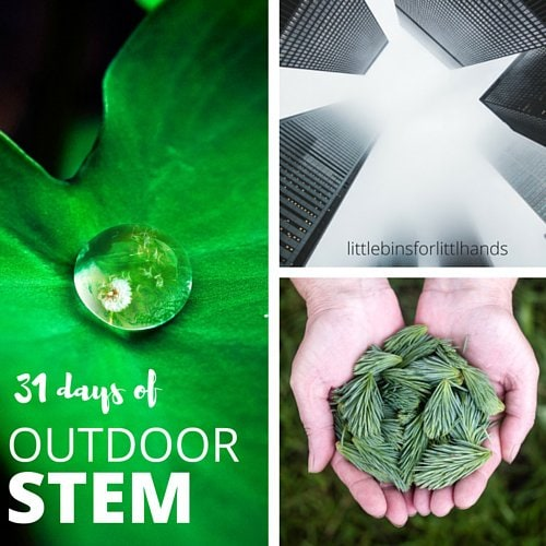 31 Days of Outdoor Stem for Kids