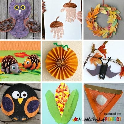 10 Fantastic Fall Crafts for Kids