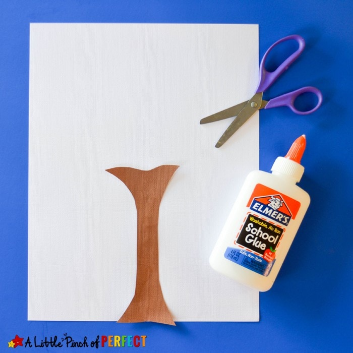 Colorful Fall Tree Popcorn Craft for Kids: An easy craft to make when the leaves start falling outside (Autumn, Kids craft)