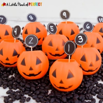 Halloween Pumpkin Counting: Math Time with Kids