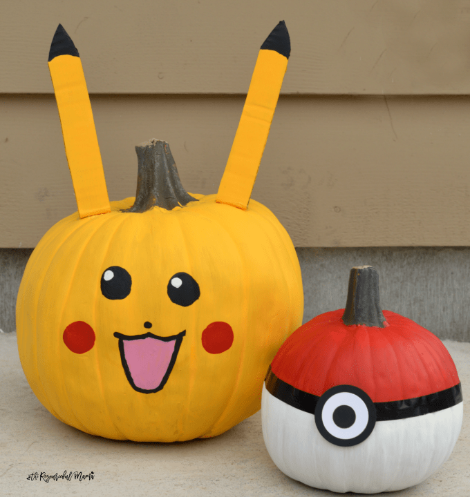 10 easy no carve pumpkin ideas for kids to make on halloween of their favorite characters - Carving Pumpkin Ideas