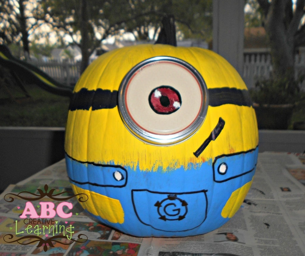 Painted Minion Pumpkins 10 Halloween No Carve Pumpkin Ideas Of Favorite Kids Characters