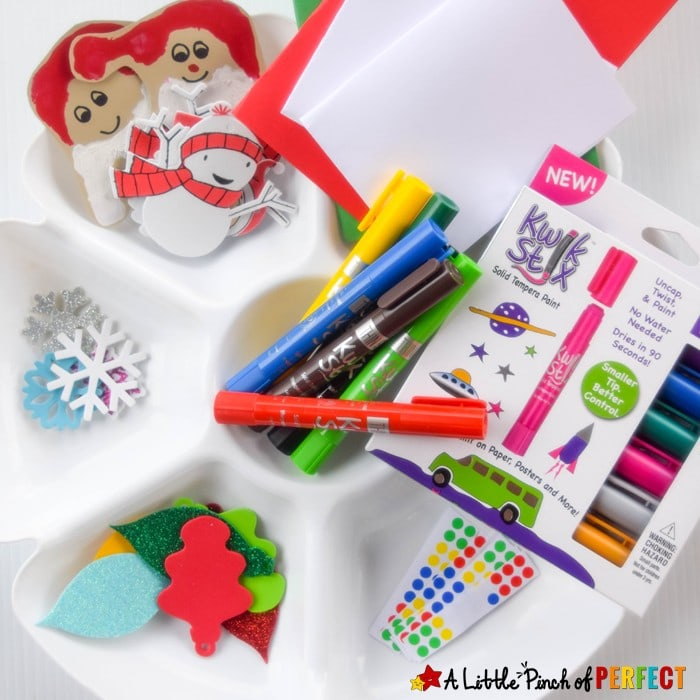 How to Make Cute and Quick Christmas Cards with the Kids: This will come in handy when you realize your list of people who need cards keeps growing because you don't want to forget grandma and grandpa, aunts and uncles, cousins, friends, neighbors, teachers--and the list goes on and on...
