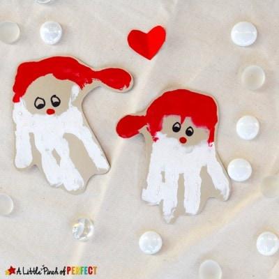 Handprint Santa: An Adorable Christmas Craft for Kids
