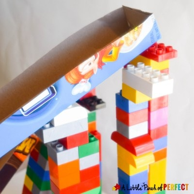 Cereal Box Ramps: Hands on STEM Activity for Kids to Play and Learn