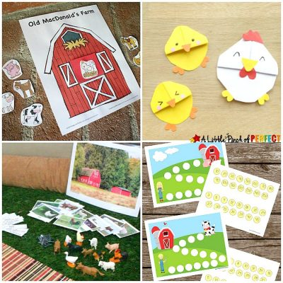 Farm Activities for Kids {Lessons, Crafts, Printables and more}