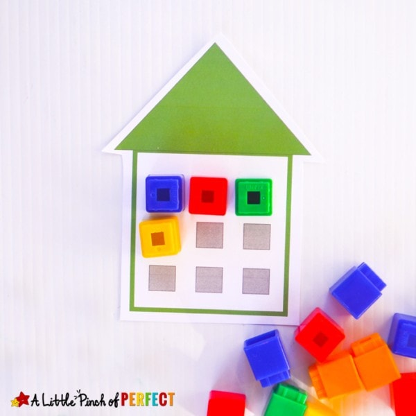 Make learning place values fun! This set helps children learn the ones, tens, and hundreds place values with a hands on manipulative set that can be used in your home or classroom and also includes some activities for additional number practice.