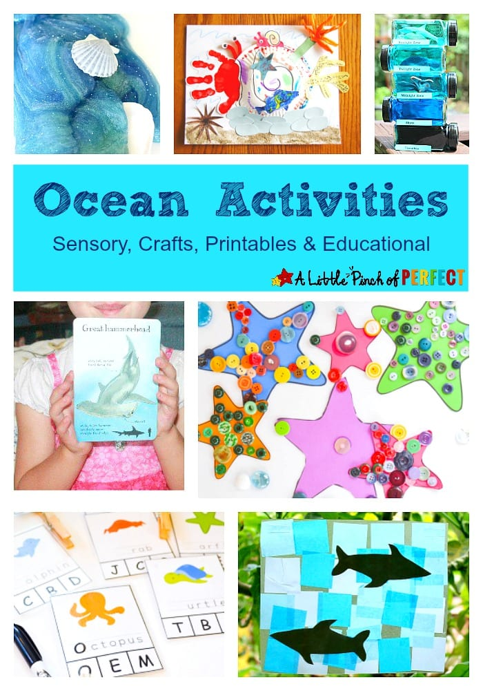 Ocean Activities for Kids - Sensory, Crafts, Printables & Educational -