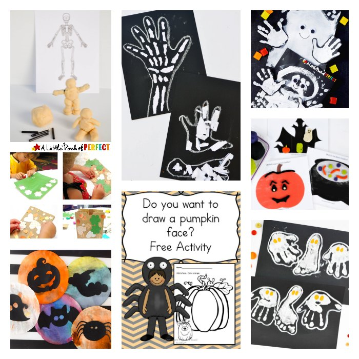 We are very excited about one of the kids' favorite holidays: Halloween. Why not make it even more fun with some Halloween Activities! We included some Halloween learning, sensory and crafts that kids will absolutely LOVE!