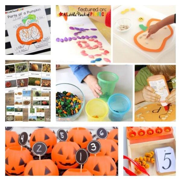 Pumpkin Activities – Crafts, Sensory & Learning Fun