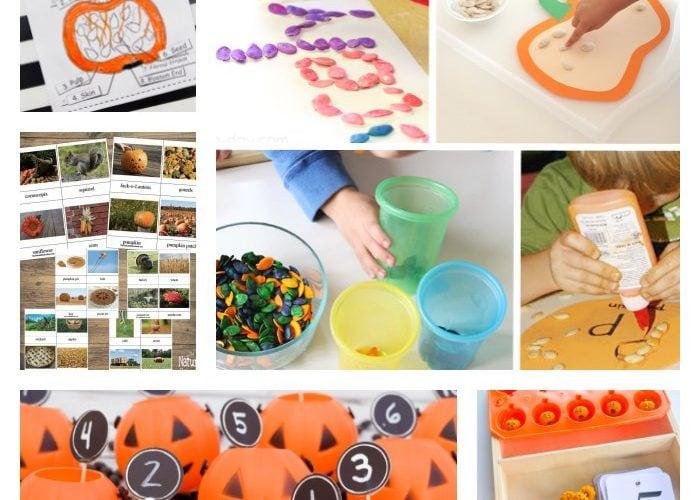 Pumpkin Activities - Crafts, Sensory & Learning Fun