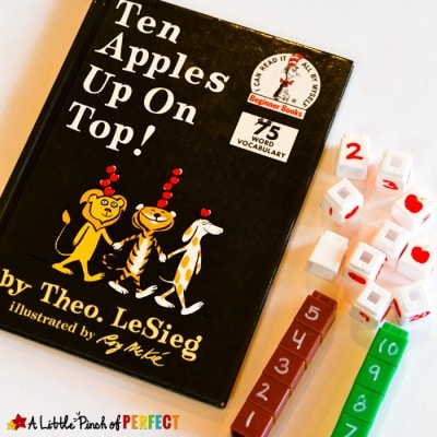 Ten Apples Up on Top Counting Activity