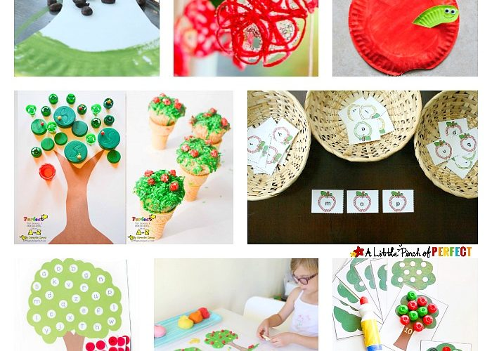 Fall Apple Activities: Math, Language, Science, Printables, Crafts and More! (Preschool, Kindergarten)