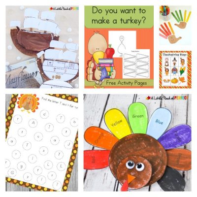 Thanksgiving Crafts, Printables and Activities for Kids