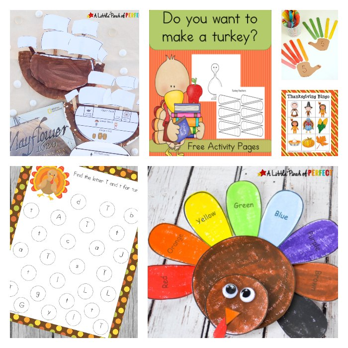 Thanksgiving Crafts Printables And Activities For Kids