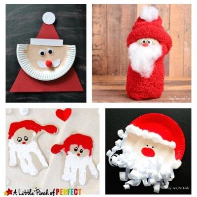 Fun Santa Claus Crafts, Activities and Printables for Kids