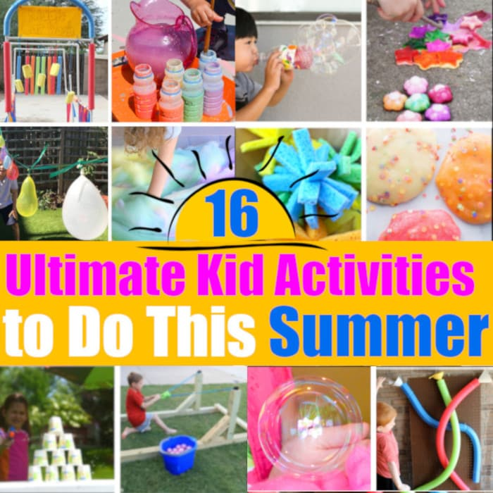 16 Ultimate Kid Activities to Do This Summer (#kidsactivity #summer)
