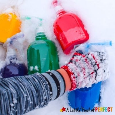 How to Make Snow Paint: Winter Kids Activity