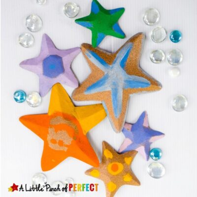 Starfish Craft and Free Template for Kids