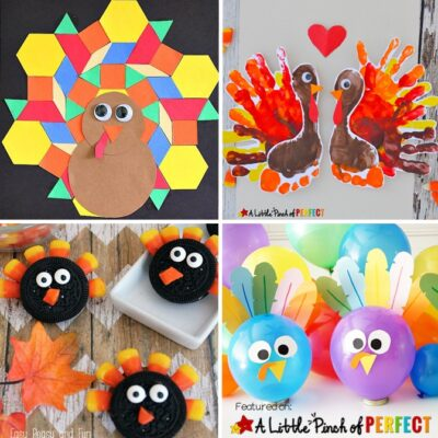 17 Top Thanksgiving Turkey Crafts for Kids