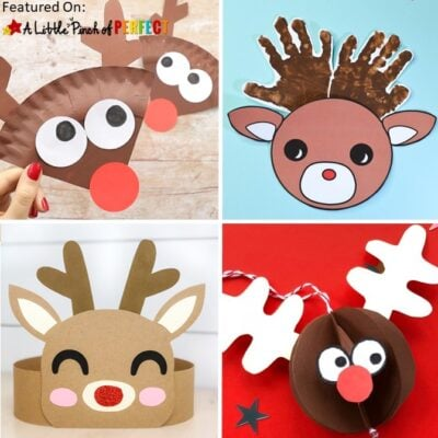 19 of the Best Reindeer Crafts for Kids